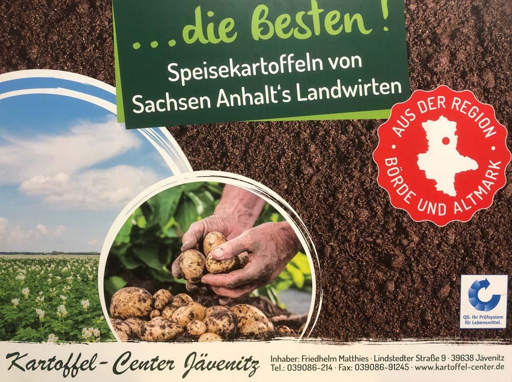 Kartoffelcenter Jävenitz - aus der Region